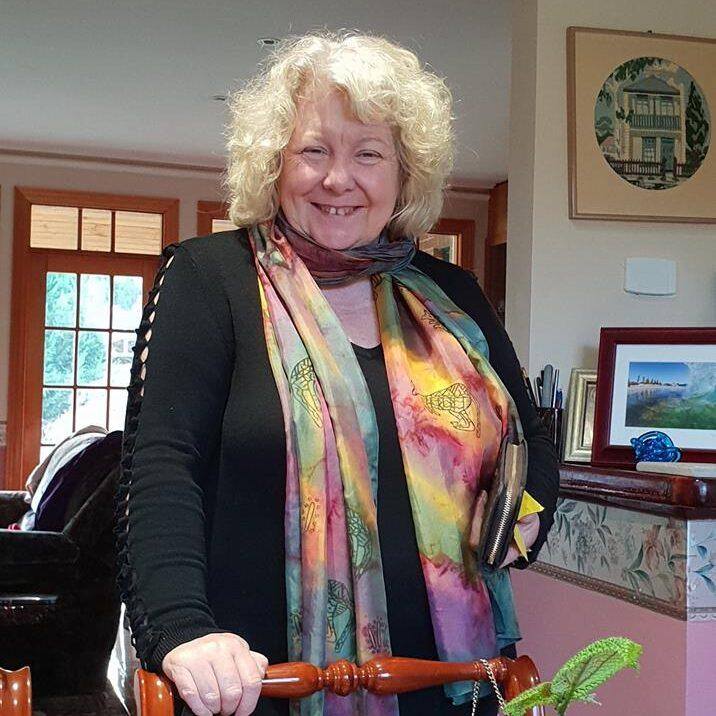Mum with scarf